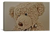 Old Teddy Bear, Canvas Print