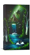 Waterfall of love <3, Canvas Print