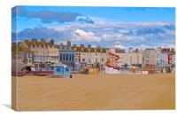 Weymouth Dorset Seafront, Canvas Print