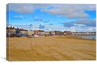 Weymouth Dorset Seafront , Canvas Print