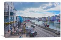 Weymouth Harbour Dorset, Canvas Print
