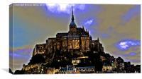 Mont St Michel, Canvas Print