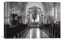 Derby Cathedral, Canvas Print