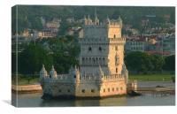 Belem Tower, Lisbon, Canvas Print