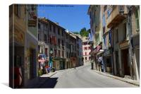 Castellane, France, Canvas Print