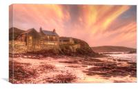 Wembury beach, Canvas Print