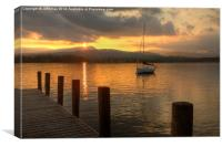 Windermere Calm, Canvas Print