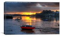 River Tamar, Canvas Print
