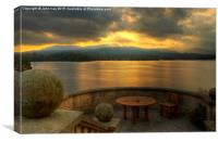 Windermere view, Canvas Print