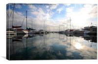 St Helier Marina, Jersey, Canvas Print
