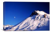 Tignes Ski Resort France, Canvas Print
