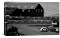Anglesey Track Day Round 2, Canvas Print