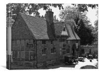 Castle Inn, Chiddingstone, Canvas Print
