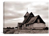 Fairfield Church, Canvas Print