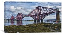 Forth Bridge Scotland, Canvas Print