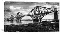 Forth Bridge, Scotland, Canvas Print