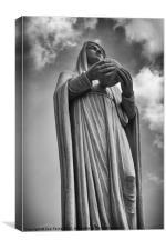Virgin Mary, Canvas Print