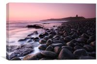 Dunstanburgh Castle Sunrise, Canvas Print