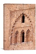 Marrakesh Windows, Canvas Print