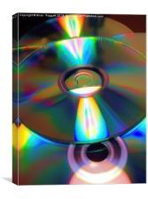 Slipped Disc, Canvas Print