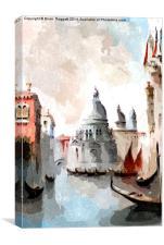 Venice Days, Canvas Print