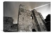 Oystermouth Castle, Canvas Print