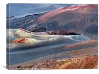 Crater at Haleakala NP, Canvas Print