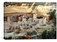 Mesa Verde, Canvas Print