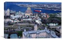 Quebec City, Canvas Print