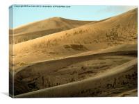 Great Sand Dunes, Canvas Print