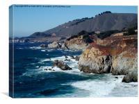 Big Sur California, Canvas Print