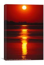 Rhythmic Sunrise, Canvas Print