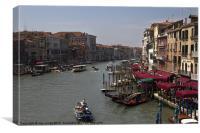 Main Street, Venice, Canvas Print