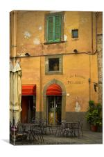 Caffe Ristoro Piccadilly, Canvas Print