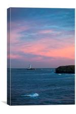 Last sunset of 2013, Canvas Print