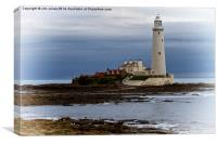 St Mary's Island, Canvas Print
