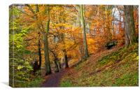 Golden Autumn, Canvas Print