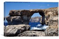 The Azure Window, Canvas Print