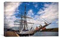 Tall Ship, Canvas Print