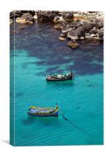 Chrystal Clear, Canvas Print