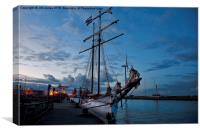 The Flying Dutchman, Canvas Print