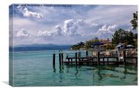 Sirmione. Lake Garda, Canvas Print