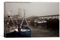 Fog on the Tyne, Canvas Print