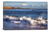 Northumbrian Coastline, Canvas Print