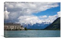 Lake Zell , Canvas Print