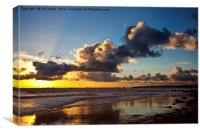 Northumbrian seascape, Canvas Print