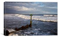Northumbrian seascape, Canvas Print