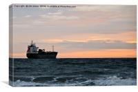 Sailing away, Canvas Print