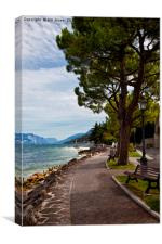 Lake Garda (2), Canvas Print