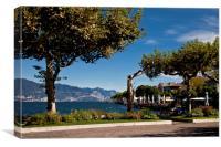 Torri del Benaco, Lake Garda, Canvas Print